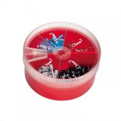 Adereindhuls assortimentsdoos 0,5-2,5 mm2 (440 stuks)
