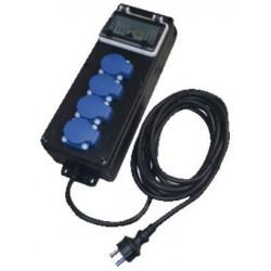 Bouwkast rubber ErgoSafe IP44 (5 meter snoer met RA contactstop)