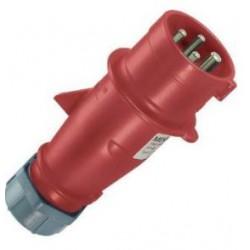 CEE stekker 32 Ampere 3-polig plus aarde multi-grip ( 4-polig )