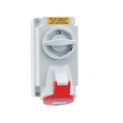 CEE afschakelbare en vergrendelbare wcd 16 ampère 5-polig