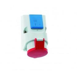 CEE Combi wandcontactdoos 16 Ampere 5 polig
