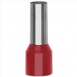Geïsoleerde adereindhuls 35 mm2 in rood